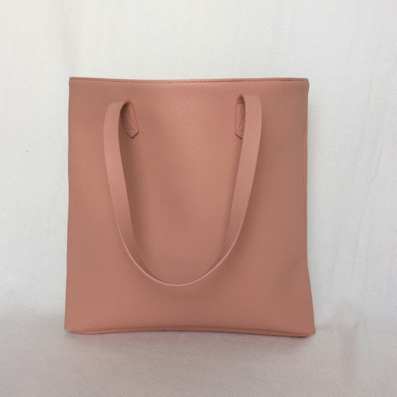 75a056cbf5 Dusty Pink Vegan Leather Everyday Market Tote NWT